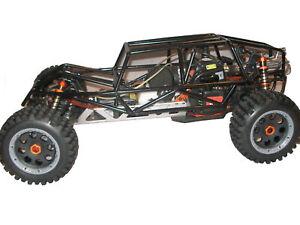 Rovan Black Steel Metal Buggy Sand Rail Roll Cage Fit HPI Baja 5B SS King Motor