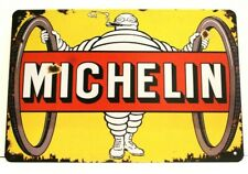Michelin Tires Tin Metal Sign Art Vintage Style Man Cave Garage Automotive Car 1