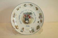 Vintage Wedgwood Beatrix Potter Peter Rabbit Birthday Plate