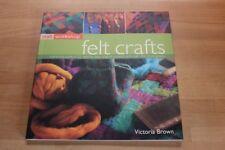felt crafts * Victoria Brown * book Buch filzen – 25 projects – 250 photographs