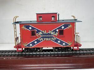Bachmann Spectrum Ho Scale On30 Civil War Confederate Express Caboose Car Ex