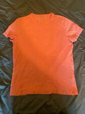Banana Republic Soft Wash Organic Cotton Large Peach Marl T-Shirt