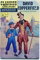 Classics Illustrated, David Copperfield #48, 4th Edition, $0.15 - HRN 121 - VG