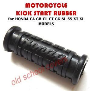 MOTORCYCLE KICK START RUBBER for HONDA C CA CB CD CL CT SL SS XL XR 68mm LONG #4