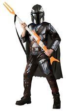 "The Mandalorian Halloween Costume & 42"" Rifle Gun Blaster Men Adult Large 36 38"