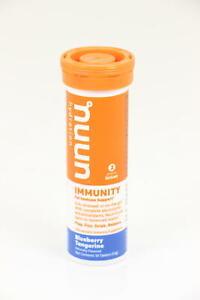 12 PACK Nuun, Immunity Blueberry Tangerine, 10 Ct 120 Tablets Total EXP 5/21 U35