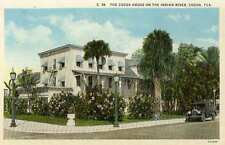 1922 COCOA FL Cocoa House on Indian River postcard