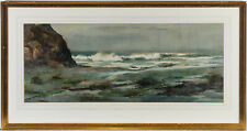 Lilian Reynolds - Signed & Framed Mid 20th Century Watercolour, The Empty Beach