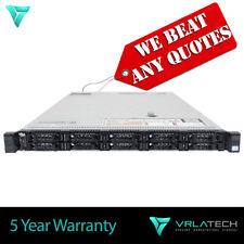 Dell PowerEdge R620 Server 2x E5-2643 128GB RAM 1TB H710p