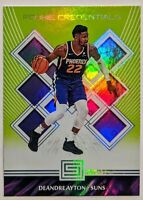 Deandre Ayton 2018-19 Panini Status Rookie Credentials Green #6 RC HOT Suns🔥