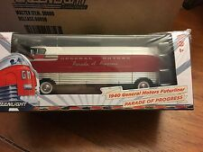"Greenlight Hobby Exclusive 1940 General Motors Futurliner. "" Parade Of Progress"""