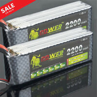 5/3/1Pcs 3S 11.1V 2200mAh 25C Rechargeable LiPo Battery for Radio Control Toys