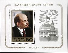 RUSSIA SOWJETUNION 1984 Block 174 S/S 5250 114 Geb. Lenin Kommunist Politiker **