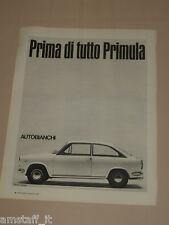 AG18=1968=PRIMULA AUTOBIANCHI=PUBBLICITA'=ADVERTISING=WERBUNG=