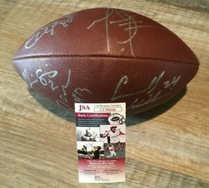 05 Tampa Bay Buccaneers signed Football (Clayton, Simms, Pittman, Carnell++) JSA