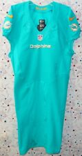 2013 MIAMI DOLPHINS NFL FOOTBALL TEAM GAME ISSUED GREEN LINE JERSEY Size 38