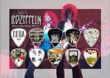 LED ZEPPELIN - A5 SIZE  - GUITAR PICK DISPLAY