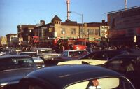 35mm Slide Brooklyn Street Scene 1960s Nathan Cars Surf Ave Coney Island