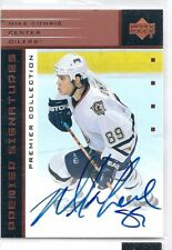 2002/03 UD Premier Collection MIKE COMRIE Auto Card