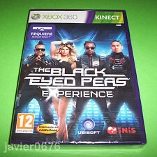 THE BLACK EYED PEAS EXPERIENCE NUEVO Y PRECINTADO PAL ESPAÑA XBOX 360 KINECT