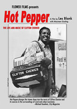 Hot Pepper DVD Clifton Chenier 1971 zydeco documentary