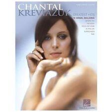 Chantal Kreviazuk - Greatest Hits Sheet Music Songbook Song Book