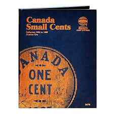 Whitman Coin Folder 2479 #1 Canada Small Cents 1920-1988