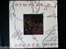 "VINYL 7"" SINGLE - SUCKER DJ - DIMPLES D - FBI11"