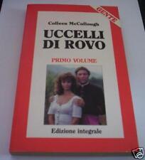 PÁJAROS POR ZARZA Colleen McCullough 1989 primo volume