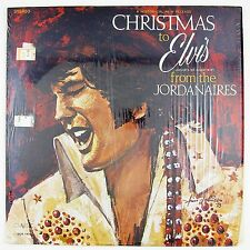 JORDANAIRES Christmas To Elvis From the Jordanaires LP NM- NM-