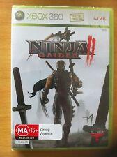 Ninja Gaiden II 2 Xbox 360 PAL *NEW&SEALED!!*