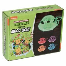 Mood Light Teenage Mutant Ninja Turtles 3D Effect Multi Colour 7 Colours Kids