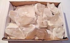 Bulk Natural Clear Quartz Crystal Clusters: 9-14 Piece Lot