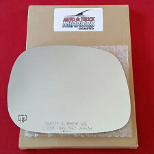 NEW Mirror Glass 02-08 RAM PICKUP TRUCK Passenger Side HEATED