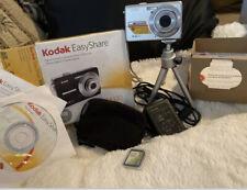 Kodak EasyShare M320 9.2MP Digital Camera Silver  With Case, Tripod & 2 GB Card