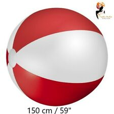 150cm/ 59'' GIANT INFLATABLE BEACH BALL Toy Kids Summer Outdoor Pool Fun Lot