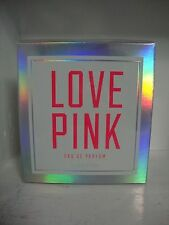 Victoria's Secret Love Pink Perfume 1.7oz Fragrance New in Box