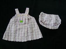 Babymini Catimini? franz Edelmarke  Kleid mit Höschen Sommerkleid? 3 M Gr.56- 62