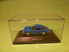 PORSCHE COLLECTION PORSCHE 901  - 1964 - BLUE  1:43 - EXCELLENT IN BOX
