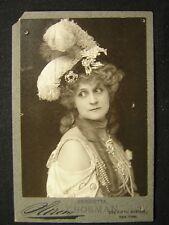 HERRIETTA CROSMAN SWEET KITTY BELLAIRS CIRCA 20s 1903 VINTAGE PHOTO W262