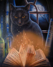 """BEWITCHED CAT CANVAS ART PRINT BY LISA PARKER 10""""H  BY 7.5""""W  WP221LP"""