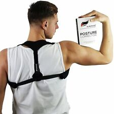 ALBURAQ Posture Corrector for Women Men & Kids – Back Wearable & Easy Adjustable