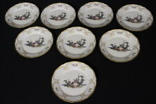 "Set of 8 MINT Rosenthal Sanssouci Hoeroldt-Arkadien ARCADIA 8"" Salad Plates"