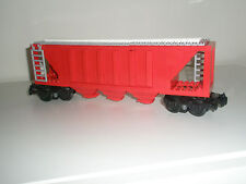 Lego Train - Custom Closed Hopper - Red - Mostly New - 10219 diesel 60052 cargo