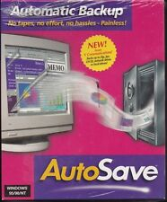 Unsealed  AutoSave AutoMatic Backup 1999 CD-ROM Vintage Software