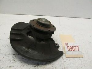 1997 BMW 318I RIGHT PASSENGER FRONT SUSPENSION SPINDLE KNUCKLE WHEEL HUB BEARING