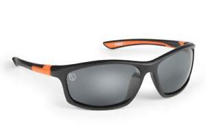 Fox Collection Black & Orange Frame & Grey Lens / Fishing Polarised Sunglasses