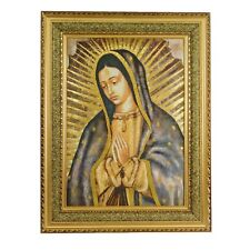Virgen De Guadalupe / Virgin Mary Medio Cuerp 27x35 5070D Cushioned Frame CUADRO