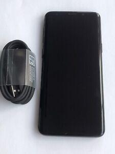 Samsung Galaxy S9 SM-G960 - 64GB - Midnight Black (Unlocked) Mint Condition