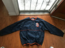 Majestic MLB Authentic Collection San Diego Padres BP Jacket Mens Extra Large